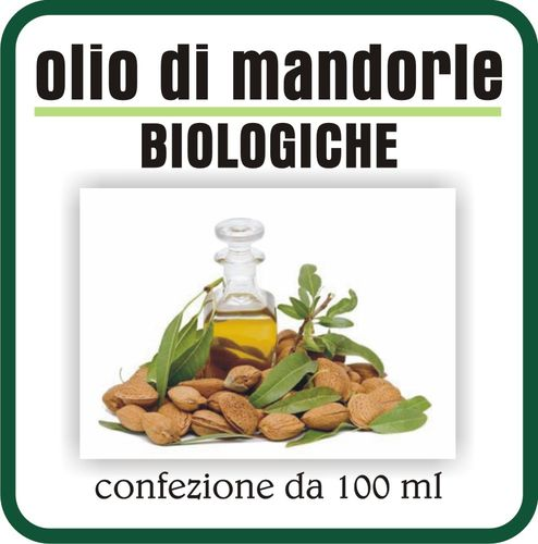 Olio di Mandorle Biologiche 100 ml